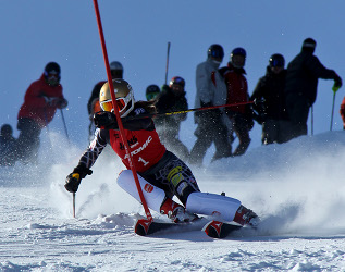 Intermountain Masters Skiing Photo by Eric Schramm
